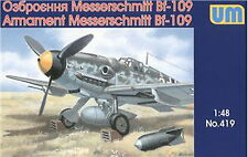 UM 419 Me-109 air weapons and equipment 1/48