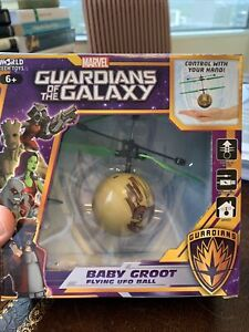 NIB Guardians of the Galaxy flying ufo ball BABY GROOT USB charger Indoors NEW