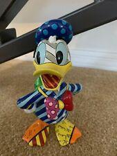 Disney ROMERO BRITTO DONALD DUCK Statue Figurine New with Tag in Original Box