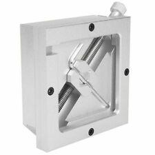 90mm Silver Bga Reballing Station Stencils Template Holder Fixture Jig For Pcb