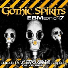 GOTHIC SPIRITS EBM EDITION 7 - 2CD - Die Krupps, Pouppee Fabrikk, Amnistia,...