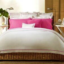 2 Ralph Lauren PALMER Euro Shams Monaco Pink