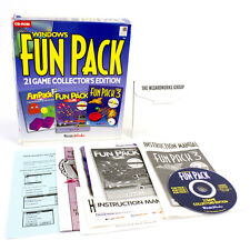 Windows Fun Pack 21 Game Collectors Edition in Big Box by Wizard Works, 1995