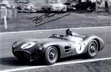 Tony Brooks Aston Martin DBR1 Goodwood Tourist Trophy 1958 Signed Photograph