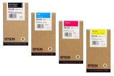 4 Original Tinte EPSON Stylus Pro 9400 7450 7400 / T6128 T6124 -T6122 Cartridges