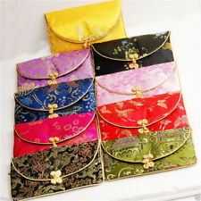 AAWholesale /20pcs Chinese Handmade Vintage Silk Purse/Wallet/Pouch Card Bag