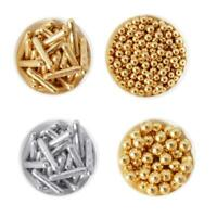 High Shine Gold Edible Pearls Sprinkles Sugar Bars Balls Cake Decoration T1Y5