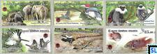 Sri Lanka Stamps 2019, Wasgamuwa National Park, Bird, Fish, Elephant, MNHs