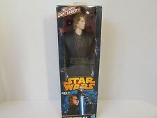 "Hasbro Star Wars Anakin Skywalker W/Lightsaber 12"" Figure 2003 Nib"