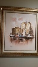 Original Oil on Board Painting signed Barnes