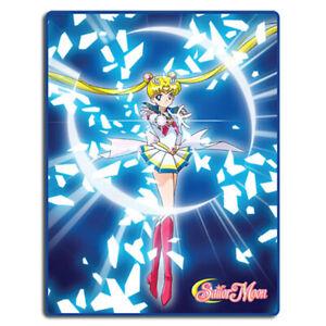 "Sailor Moon Super S Sailor Moon Attack Sublimation Throw Blanket 46""x60"" Legit"