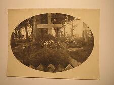 Cimitero con tomba Herbert di Chappuis-capitano BATTERIA capo far 15/FOTO