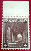 Cyprus:1928 The 50th Anniversary of the Colonies 4 Pia Rare & Collectible stamp.
