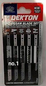 5pc JIGSAW BLADES Universal U Shank Fitting PVC Wood Plastic Clean work