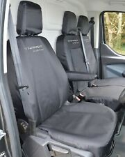 Ford Transit Custom EXTRA Heavy Duty 900d Tailored Seat Covers With Logos