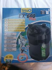 TETRATEC EX 600,PLUS EXTERNAL FILTER AQUARIUM FISH TANK MEDIA CANISTER