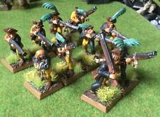 Warhammer-El Imperio-Bien pintados 10x Handgunners averland (ref 2) - Excelentes Con