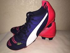 Puma evoPower 2 Firm Ground Men SOCCER SHOES SIZE 9.5 UK 8.5
