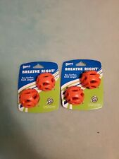 Chuckit! Breathe Right Fetch Ball For Small Dogs and Puppies Lot of 2 2 Packs