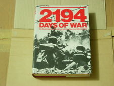 2194 DAYS OF WAR HARDBOUND BOOK