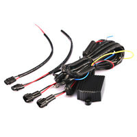 DRL LED Daytime Running Light Relay Harnes Automatic On Off Control Switch 12TF0