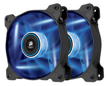 Corsair Air Series Sp120 Blue LED 120mm High Static Pressure Fan Twin Pack