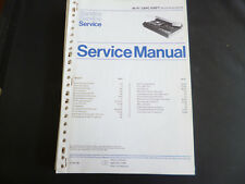Original Service Manual Philips  HIFI TAPC 6987