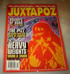 Juxtapoz magazine #33 July/August 2001 Art and Culture