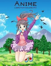 Anime: Anime Libro para Colorear 2 by Nick Snels (2016, Paperback, Large Type)