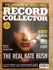 Record Collector Magazine August 2014 Kate Bush Cover The Vibrators