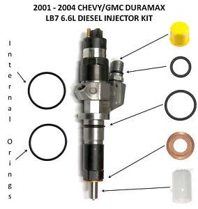 2001-2004 GMC Chevrolet 6.6L 6.6 LB7 Duramax Diesel Fuel Injector Seal Oring Kit