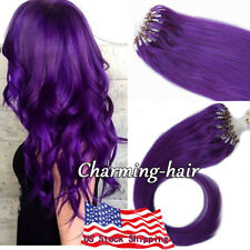 Micro Beads Loop Ring Hair Extensions Premium 7A Grade Indian Remy Human Hair US