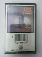 OZZY OSBOURNE Blizzard Of Ozz JZT36812 Cassette Tape