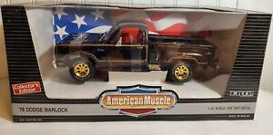 Ertl American Muscle 1978 Dodge Warlock Adventurer 150 1:18 Diecast Pickup Truck