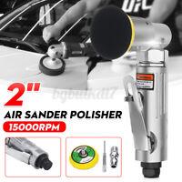 Mini Air Sander Polisher 90° Angle Orbital Polishing Car Grinding Sander Pad э