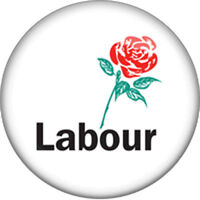 Labour Party - UK General Election - Pin Badge/Fridge Magnet.