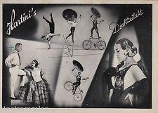 Hartinis Drahtseilakt Hartini AK um 1930 Zirkus Varieté Artisten Mehrbild 607155