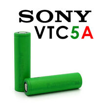 SONY KONION VTC5A BATTERIA PILA RICARICABILE ORIGINALE 18650 2600mmAh 35A FLAT