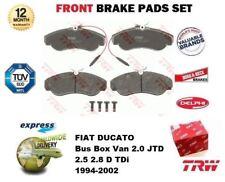 Fiat Ducato 250 120 Multijet 2.3D Variant1 Genuine Borg /& Beck Front Brake Pads