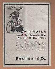 BIELEFELD, Werbung 1934, Kuxmann & Co. KG Fahrrad Luxus Gebrauchs-Räder