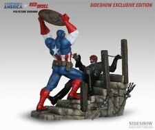 Sideshow Captain America vs Red Skull Diorama Exclusive #90041 new sealed