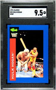 1991 CLASSIC WWF #52 HULK HOGAN SGC 9.5 MT+ #1511750