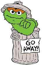 """Oscar the Grouch Iron On Transfer 5"""" x 7.75"""" for LIGHT Colored Fabric"""