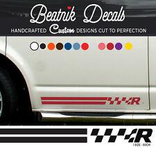 VW T5 Side Stripe Sticker Decal Graphic Emblem Transporter Volkswagen R Line