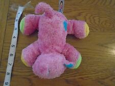Mary Meyer pink kitten / cat with touchy feely material bits     1/8
