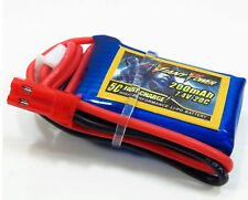 7.4V 2S 200mAh 20C LiPO battery for 1/36th Buggy Car Truck Truggy & F3P Lipoly