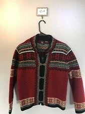 Women's Vintage Large Skyr Icelandic Cardigan Sweater