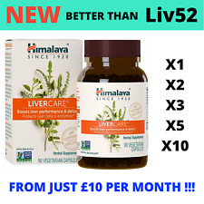 LiverCare 90-900 Caps PREMIUM | Better Than Liv 52 / DS | Liver Booster & Detox