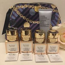 Estée Lauder Re-Nutriv Ultimate Lift Youth Creme/Eye Creme 6 Piece GIFT SET LOT