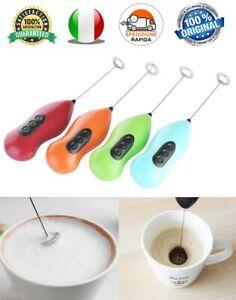 Frullino Montalatte Cioccolato Schiumoso Cappuccinatore Miscela Caffè Cappuccino